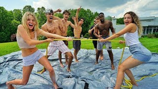 SLIP N SLIDE TUG OF WAR!