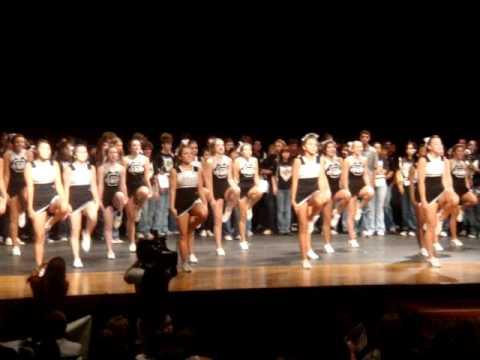 Clark High School Varsity Cheerleaders