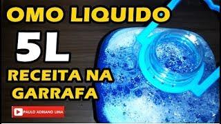 Receita Fácil de Omo Liquido na Garrafa