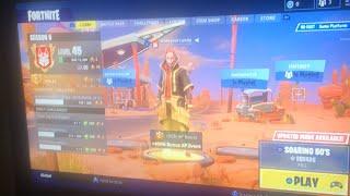 Fortnite gameplay plus v-bucks giveaway