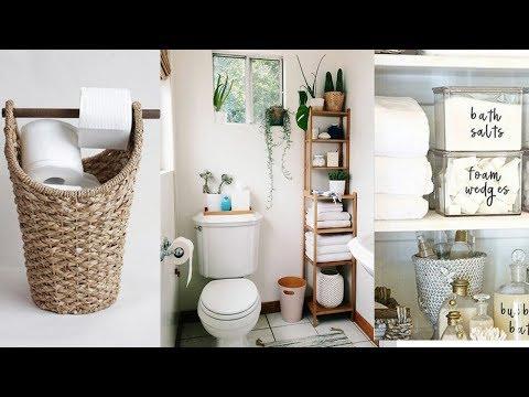 Diy Bathroom Organization Storage Ideas You Ll Love Youtube