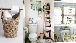 DIY Bathroom Organization & Storage Ideas You'll Love