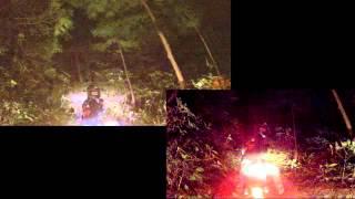 猿投山 探索 ミッドナイト スーパーカブ110 スパトラサスファン 検索動画 13