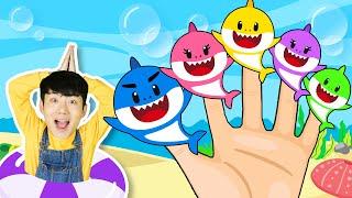 Baby Shark Dance | Sing and Dance! | Shark Finger Family | Finger Family Songs for Kids!
