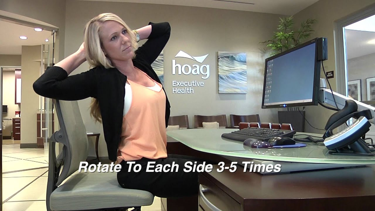 Top 5 Stretches For Desk Workers Created by personalcare physicians