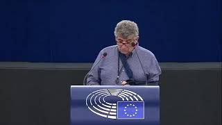 Intervento in Plenaria a Strasburgo dell'europarlamentare Pietro Bartolo sulla Pesca e acquacoltura resilienti ai cambiamenti climatici nell'UE
