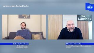 Lamitex x Isola Design District | A conversation with Massimo Manzato