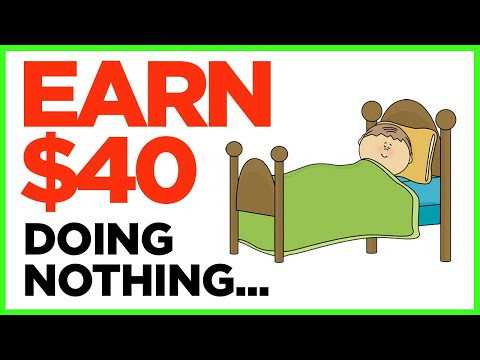 Make Money Online DOING NOTHING (Passive Income Machine)
