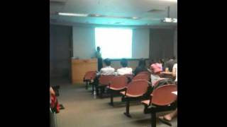 Database Lecture in progress