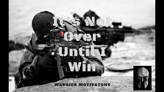 """""""It's Not Over Until I Win"""" Military Motivation Speech // Les Brown TD Jakes"""
