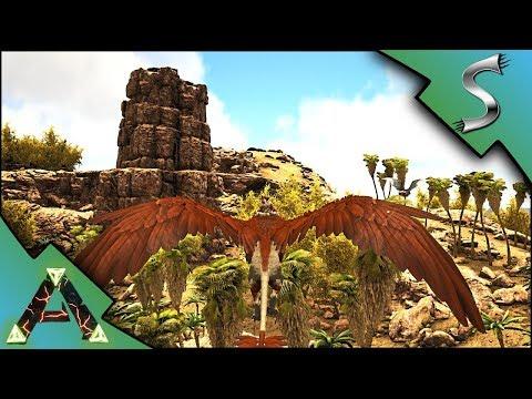 THE NEW RAGNAROK MAP EXTENSION! TASMANIA, WYVERN COAST & TEMPLE! - Ark: RAGNAROK [DLC Gameplay E42]