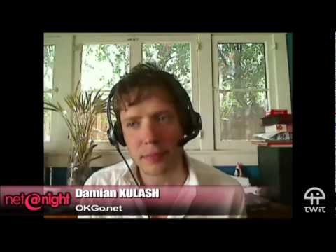 Damian Kulash talks about OK Go leaving EMI, YouTube embeddability and Paracadute Recordings