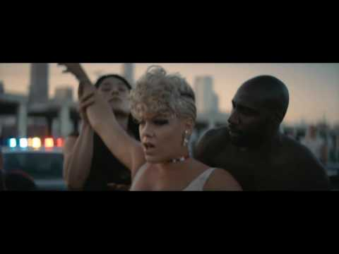 P!nk - What About Us (Cash Cash Remix Music Video)