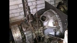 Самодельный трактор/часть 3/ КПП ГАЗ-53 подготовка, доработка под ременную передачу