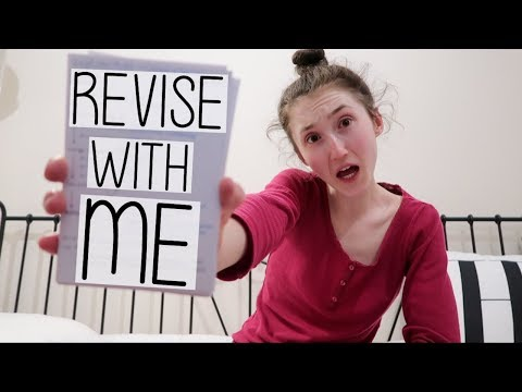 EVENING REVISION CRAMMING SESSION! HOW TO LEARN INFORMATION QUICKLY | STUDY WITH ME