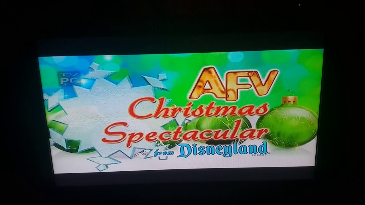 America\'s Funniest Home Videos Christmas Spectacular intro - YouTube
