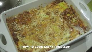 Lasagna Recipe - Lasagne Pasta