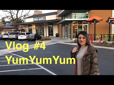 Vlog #4  Trying Out California Fish Grill