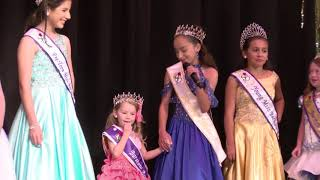 Miss Barstow Pageant Child Winners 2018