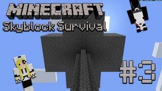 Minecraft Skyblock Survival - Episode 3 - Mob Farm - Featuring: TheSleepyKitten (HD)