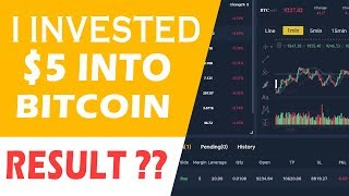 I INVESTED $5 INTO BITCOIN -/ Amazing Results  !! Cryptocurrency Trading in 2020 With Bityard