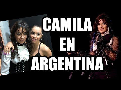 Camila Cabello habló con Lali Esposito en backstage
