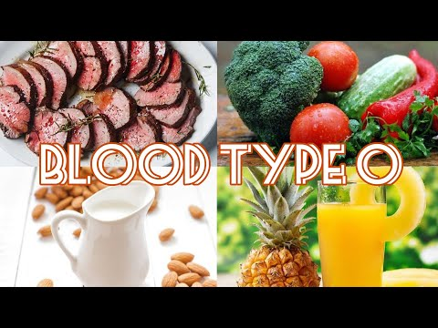 The Blood Type Diet - Blood Type 0 (Real Voice)