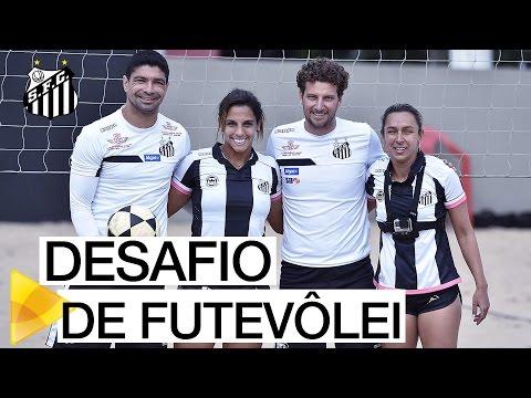 DESAFIO DE FUTEVÔLEI: Aninha e Vânia x Renato e Elano | #GoPro