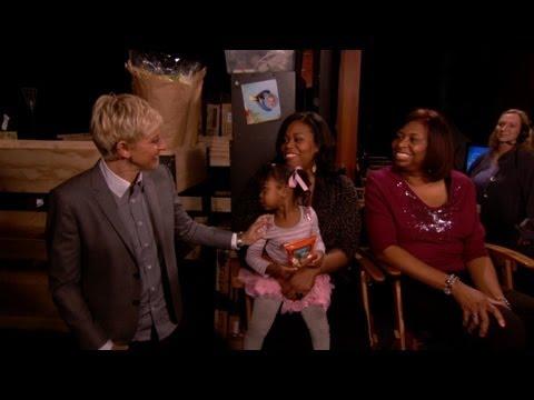 Exclusive! Ellen Hugs