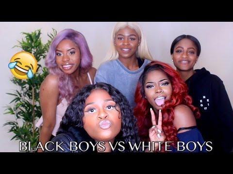 TALK SERIES || BLACK BOYS VS WHITE BOYS