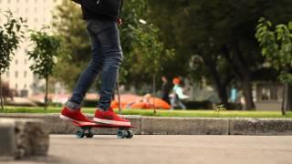 первые уроки скейтбординга