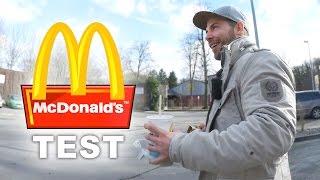 McDonalds Test 🍔🍟 - Wie gut/schlecht ist das Essen für Sportler?