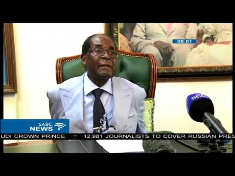 Mugabe says, 'Mnangagwa government is illegal'