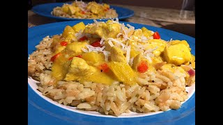 Hawaiian Chicken Curry Recipe - A Great Tropical Dish! Episode #254