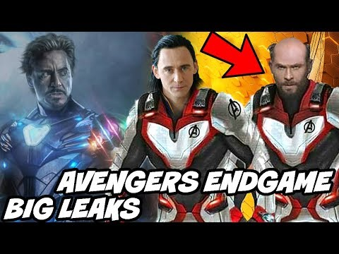 Thor Bald in Avengers Endgame Big Leaks and Avengers Infinity War