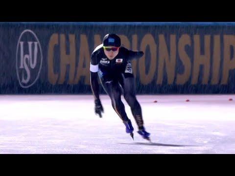 Miho Takagi 3000m - 4:19.78. World Allround 2018