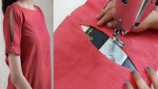 Latest Stylish Sleeves Design making | Half Sleeves Design for Kurti/kameez/Dress