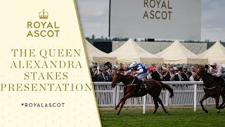 Royal Ascot 2017: Presentation of The Queen Alexandra Stakes