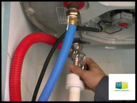 Plomberie  Changement groupe scurit ballon eau chaude