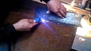 Пример резки плазменного резака Avrora pro cut 40(Резка метала 4-6 мм плазморезом Avrora pro., 2015-06-27T12:13:31.000Z)