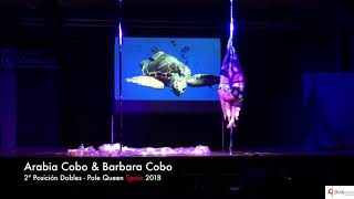 Arabia Cobo y Barbara Cobo - Pole Queen Spain 2018 - 2ª Posición Doble