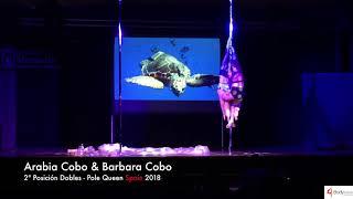 Arabia Cobo y Barbara Cobo - Pole Queen Spain 2018 - 2ª Posición Dobles
