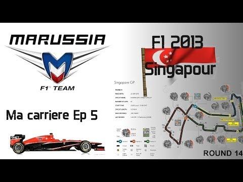 F1 2013   gameplay carrière   La chasse à E.Gutiérrez   FR-SE