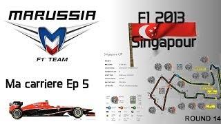F1 2013 | gameplay carrière | La chasse à E.Gutiérrez | FR-SE