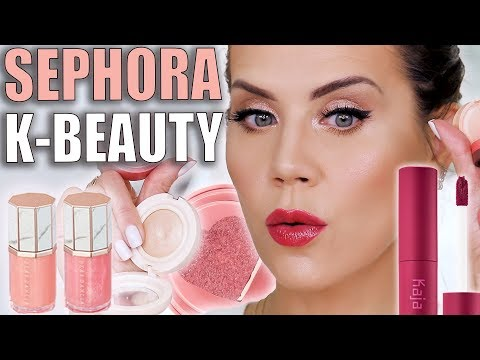 Testing K-BEAUTY MAKEUP from SEPHORA