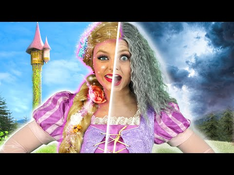 disney-princesses-old-age-spell?-will-rapunzel's-magic-hair-saves-elsa,-belle,-jasmine-and-tiana.