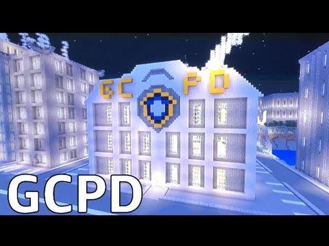 Minecraft New Gotham City: Gcpd