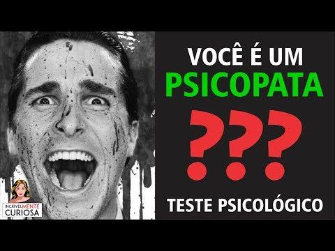 Baixar VOCÊ É UM PSICOPATA? TESTE PSICOLÓGICO E PERSONALIDADE