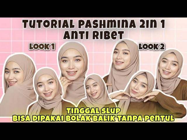 Tutorial Hijab Pashmina Simpel Anti Ribet 2021 Ll Wajib Nonton Youtube
