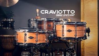 Snare Spotlight: Craviotto Steam Bent Snare Drums